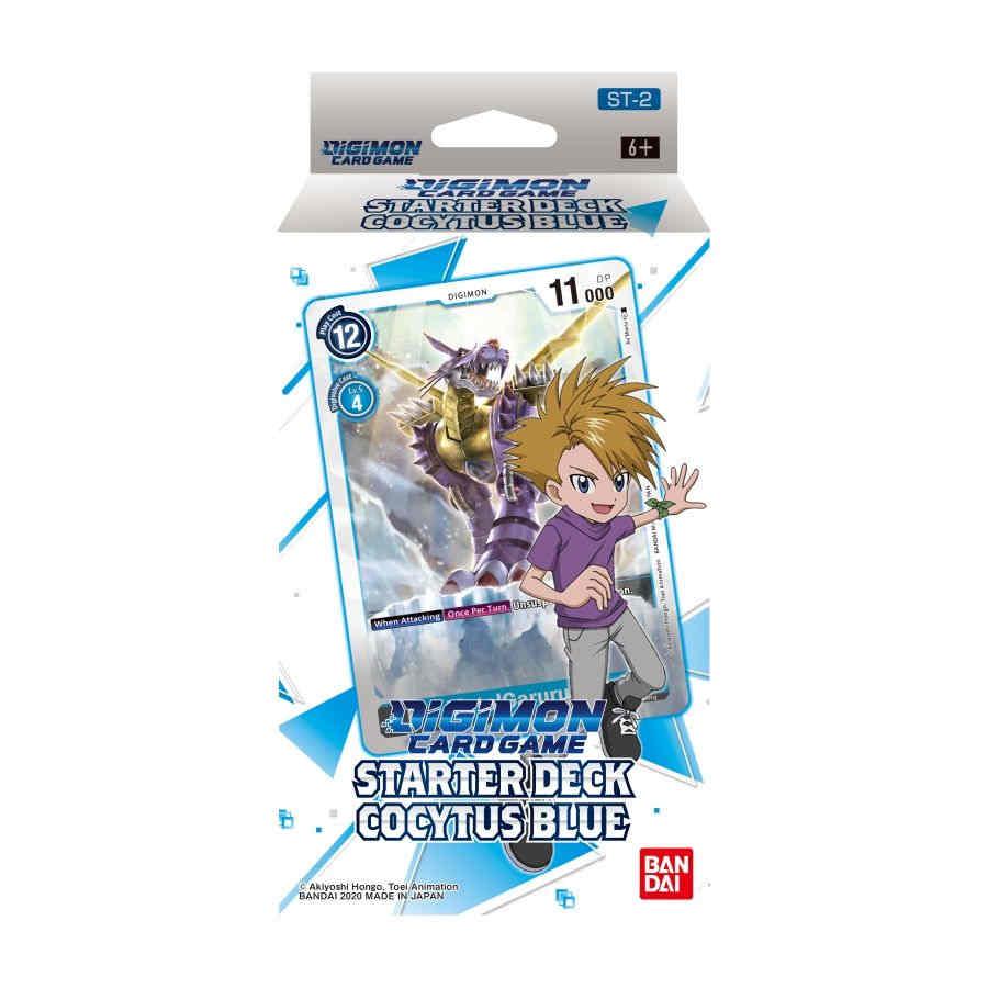 DIGIMON CARD GAME STARTER DECK COCYTUS BLUE ( Gabumon )