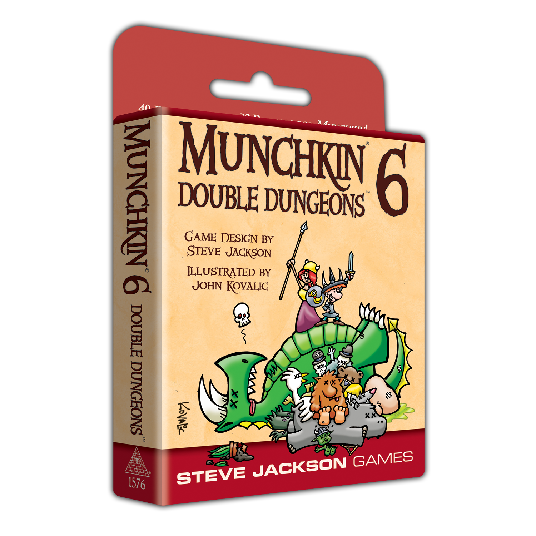 Munchkin 6 — Double Dungeons