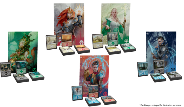 Ravnica Allegiance Guild Kits (set of 5)
