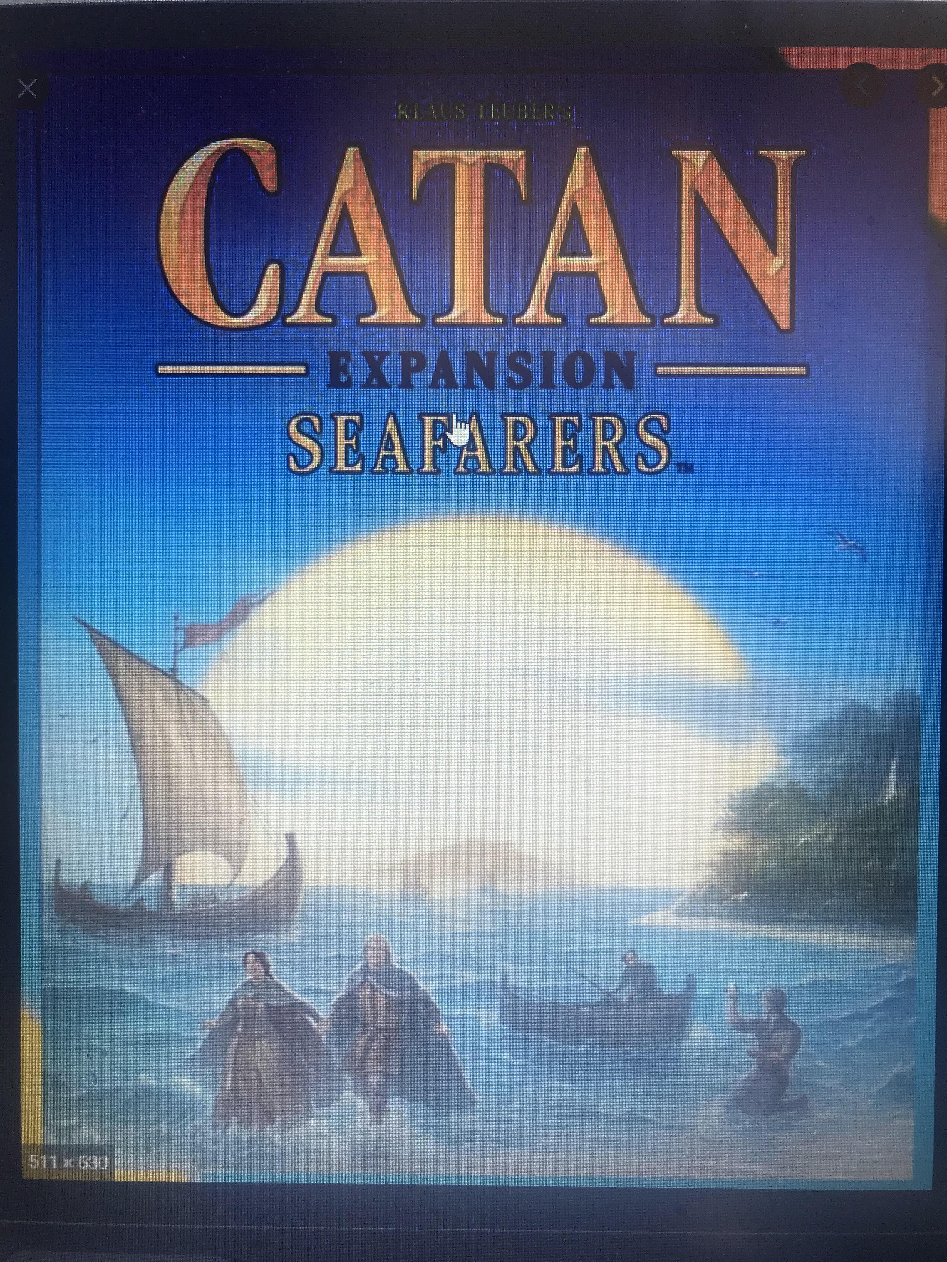 Catan Expansion Seafarers
