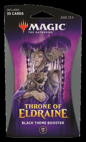 MAGIC THE GATHERING: THRONE OF ELDRAINE THEME BOOSTER (BLACK)