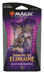 MAGIC THE GATHERING: THRONE OF ELDRAINE THEME BOOSTER (BLACK)