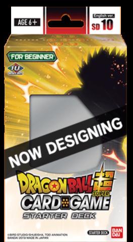 DRAGON BALL SUPER: SERIES 8 STARTER DECK - DECK 10 - PARASITIC OVERLORD
