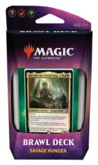Magic The Gathering Throne of Eldraine: Brawl Deck Savage Hunger BRG