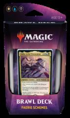 Magic The Gathering Throne of Eldraine: Brawl Deck Faerie Schemes WUB