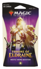 MAGIC THE GATHERING: THRONE OF ELDRAINE THEME BOOSTER (WHITE)