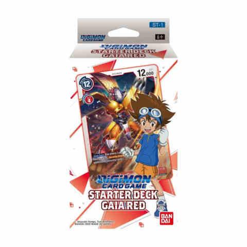 DIGIMON CARD GAME STARTER DECK GAIA RED (Augamon)