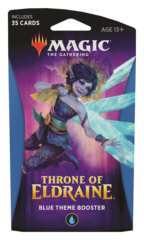 MAGIC THE GATHERING: THRONE OF ELDRAINE THEME BOOSTER (BLUE)