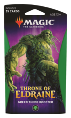 MAGIC THE GATHERING: THRONE OF ELDRAINE THEME BOOSTER (GREEN)