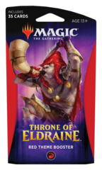 MAGIC THE GATHERING: THRONE OF ELDRAINE THEME BOOSTER (RED)