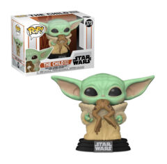Pop! Star Wars : The mandalorian 379: The Child With frog