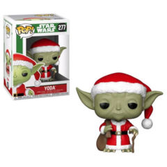 Pop! Star Wars 277: Holiday Santa Yoda