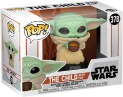Pop! Star wars: The Mandalorian 378: The Child With cup