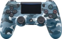Playstation Dualshock 4 Blue Camouflage Controller (New)