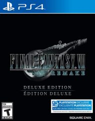 Final Fantasy VII Remake Deluxe Edition (new)