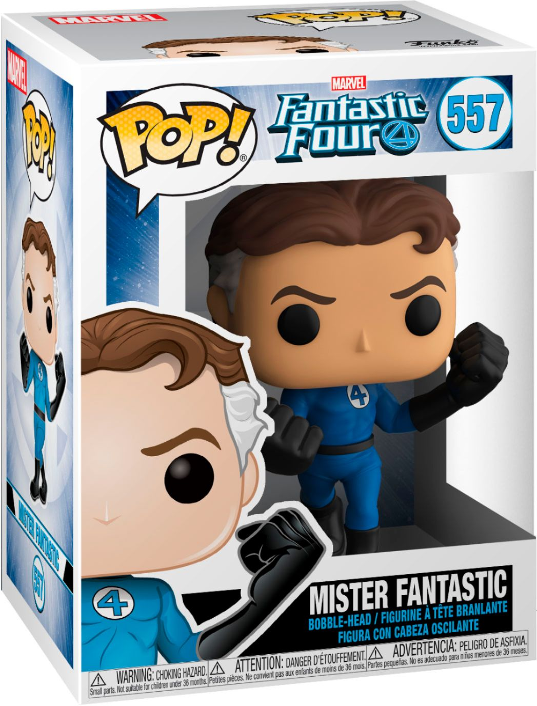 Pop! Marvel 557: Fantastic Four : Mister Fantastic
