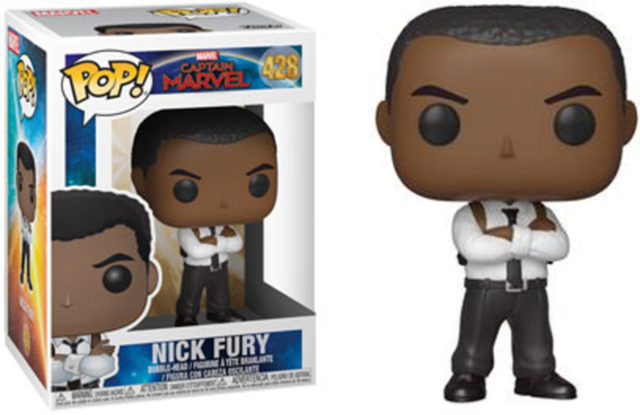 Pop! Marvel 428:captain Marvel: Nick Fury