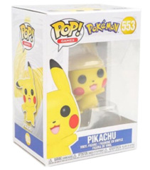 Pop! Pokemon 553: Pikachu