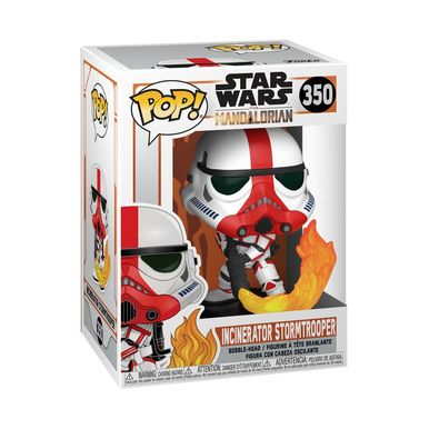 Pop! Star wars 350: Mandalorian: Incinerator Stormtropper