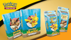 Let's Play Together Pikachu and Eevee Theme Decks