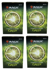 Commander Collection Green : Set of 4