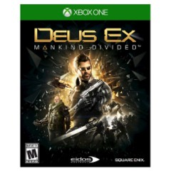 Deus Ex Mankind Divided Day One Edition (New)