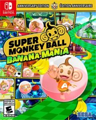 Super Monkey Ball  Banana Mania Anniversary Launch Edition (NEW)