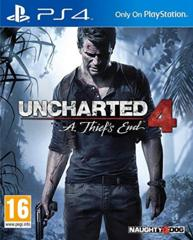 Uncharted 4 A Thief's End ( New )