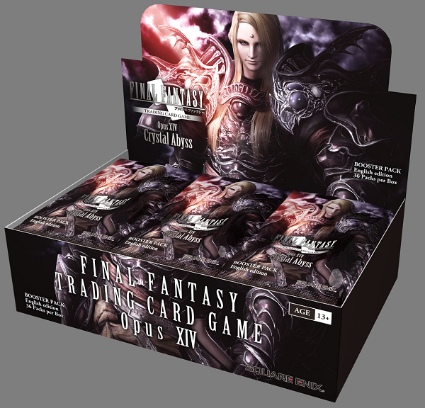 Final Fantasy TCG: Opus XIV Crystal Abyss Booster Box