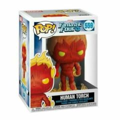 Pop! Marvel 559: Fantastic Four : Human Torch