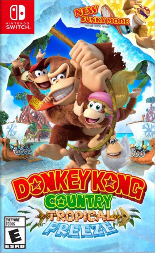 Donkey Kong Country Tropical Freeze (New)