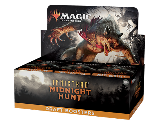 Innistrad: Midnight Hunt Draft Booster Box (With Buy a Box)