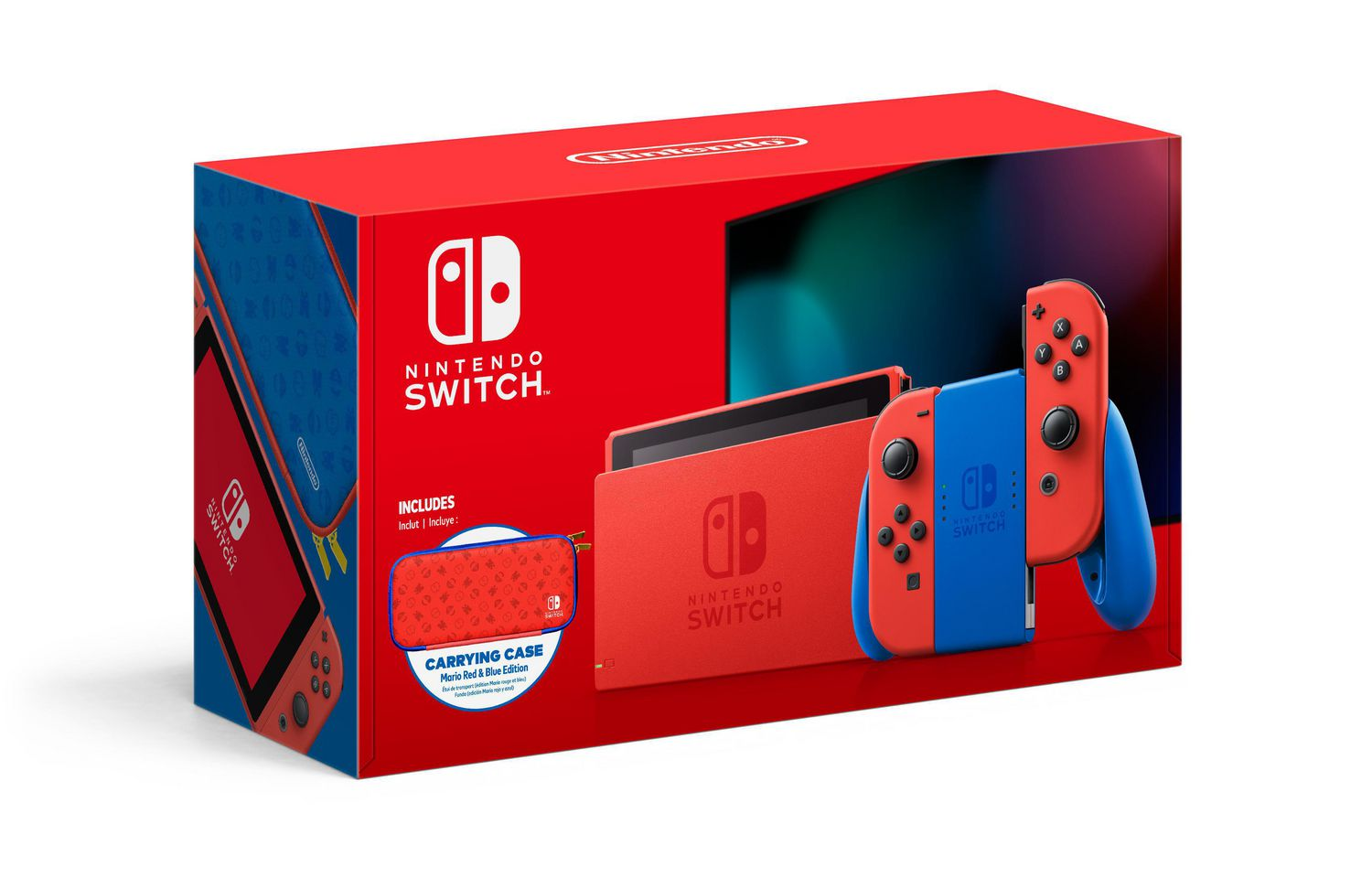 Nintendo Switch - Mario Red and Blue Edition (NEW)
