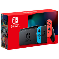 Nintendo Switch Console with Neon Red/Blue Joy-Con (New)