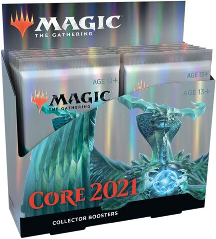 Core Set 2021 Collector Booster (12 Boosters)