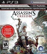 Assassin's Creed III Signature Edition