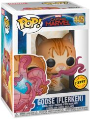 Pop! Captain Marvel 445 : Goose (Flerken) Chase Edition