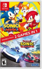 Sonic Mania / Team Sonic Racing Double Pack Switch (New)