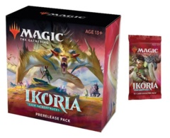 Ikoria: Lair of Behemoths Prerelease Pack + 1 Ikoria Prize Booster