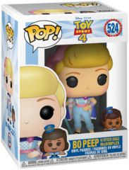 Pop! Disney 524: Toy Story 4: Bo Peep W/Officer Giggle McDimple
