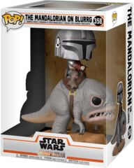 Pop! Star wars 358: Mandalorian:The Mandalorian On Blurrg