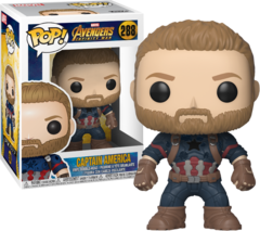 Pop! Marvel 288: Avengers - Infinity War: Captain America