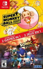 Sonic Forces / Super Monkey Ball HD Double Pack Switch (New)