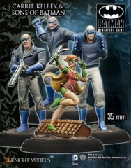 Carrie Kelley & The Sons of Batman