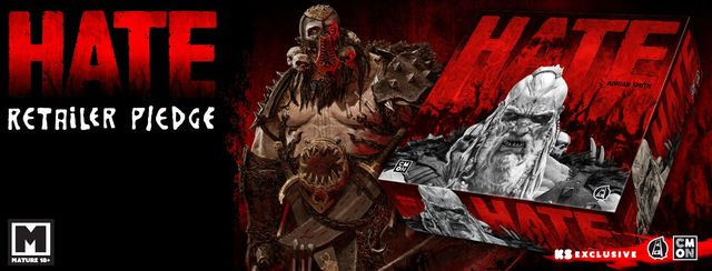 HATE: The Board Game- Kickstarter Edition