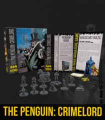 Batman Miniatures Game: The Penguin- Crimelord Bat Box Set