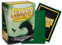 DRAGON SHIELD SLEEVES MATTE EMERALD 100CT (Standard Size)