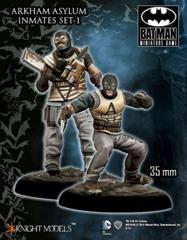 Arkham Asylum Inmates Set 1