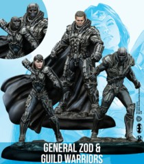 DC Universe Miniatures Game: General Zod & Guild Warriors (Resin)