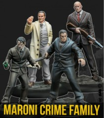 Batman Miniatures Game: Maroni Crime Family (Resin)
